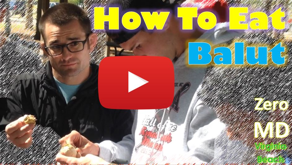 How To Eat Balut in America